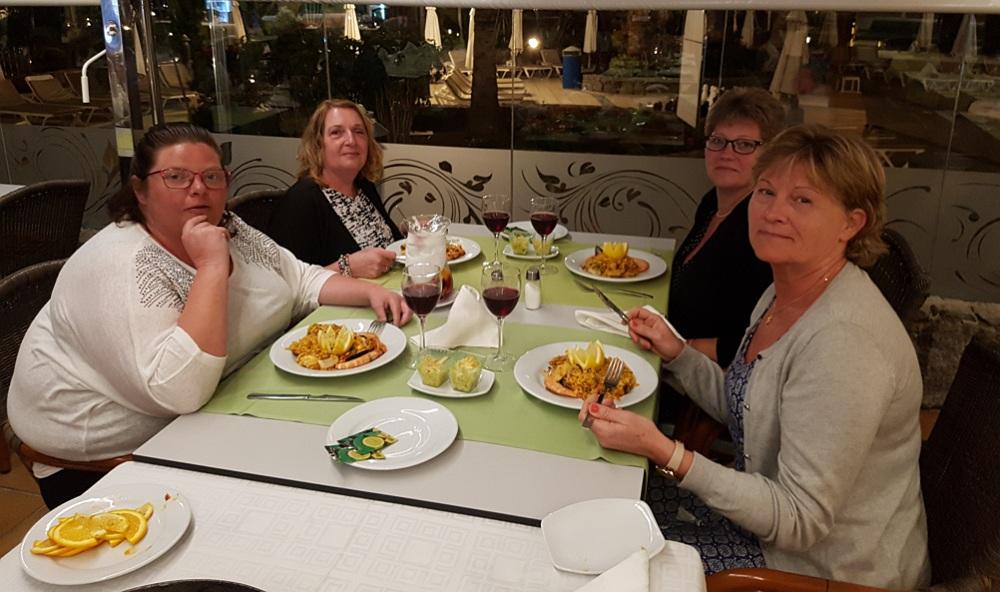 Middag på puerto